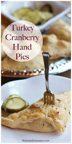 Turkey Cranberry Hand Pies #leftoverturkey #TurkeyCranberryHandPies #handpies #turkeycranberry #thanksgiving