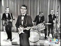 "Buddy Holly & His Crickets ""That'll Be The Day"" on The Ed Sullivan Show -1957"