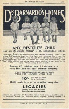 Barnardos. 1937.