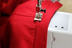 How to Sew on a Waistband