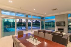 Secluded on of prime flat land and only minutes from the city fringe is this timeless contemporary home. The Dick Mercer design has been. Hamilton, Home, Haus, Homes, Houses, At Home