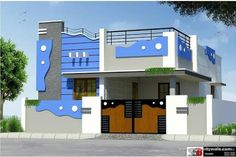 11 Karnataka Hd House Elevation Photos Ideas 11 Karnataka Hd House Elevation Photos Ideas To have the funds for your deck railing a absolute endowment lie alongside a fine deck plan is required a. House Outer Design, House Front Wall Design, Single Floor House Design, Village House Design, Small House Design, Modern House Design, Bungalow Haus Design, Duplex House Design, Independent House