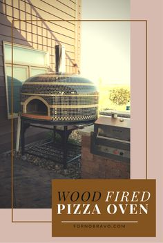 Beautiful custom tiling for your wood fired oven