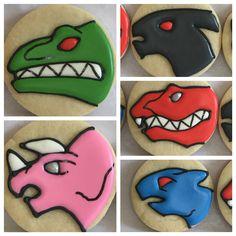 Power Rangers Dino Charge cookies