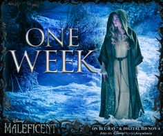 Only one week until you can bring home Maleficent! Pre-order your copy today! http://di.sn/rhf