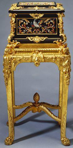 Her Majesty's Furniture: A Magnificent Jewel Casket, 1750