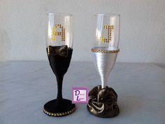 Copas personalizadas para unas bodas de oro