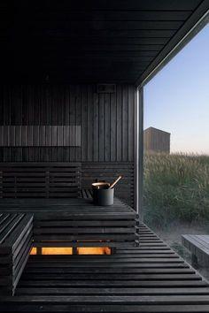 Nordic Spa   Line Design Studio Game Design, Web Design, Design Logo, Design Hotel, Modern Saunas, Wood Spa, Sauna Design, Sauna Room, Fractal