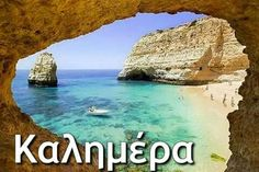 {Praia Dona Ana Beach is one of the most photographed beaches in Lagos, a town in Algarve, Portugal. Portugal Travel, Spain And Portugal, Places Around The World, Around The Worlds, Sea Activities, Portuguese Culture, Hotels, Vacation Spots, Vacation Destinations