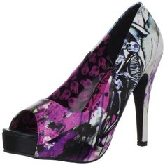 """I love these shoes! they would be the perfect touch of """"me"""" (for the reception, I could not wear these in the snow)  Iron Fist Women's Love Shock Platform Pump,Black,10 M US Iron Fist,http://www.amazon.com/dp/B008R78X0M/ref=cm_sw_r_pi_dp_jST6sb1SNEN8696E"""