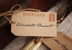Ten Vintage Style Travel Place Tags