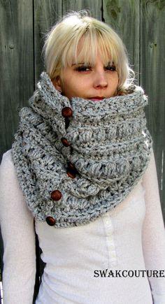 Free Crochet Pattern For Dallas Dream Scarf : Sciarpe A Maglia Grossa su Pinterest Sciarpe A Maglia e ...