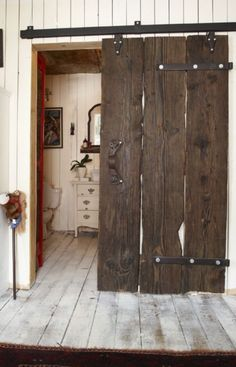 Ideas Barn Door Design Ideas Pantries For 2019 Home Door Design, Barn Door Designs, House Design, Diy Barn Door, Diy Door, Barn Door Hardware, The Doors, Sliding Doors, Inside Barn Doors