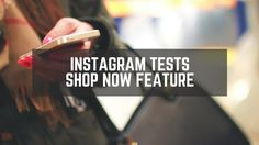 #Instagram are trialling a new instant shopping feature by adding a 'shop now' call to action to products on the network. http://giraffesocialmedia.co.uk/instagram-tests-new-instant-shopping-feature/