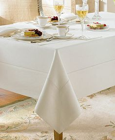 Platinum in 144 inch length Waterford Table Linens, Addison Collection - Table Linens - Dining & Entertaining - Macy's