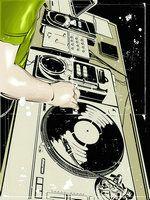 Personalised Music DJ Decks Flip Wallet Phone Case for Samsung iPhone Huawei Dj Gif, Logo Musica, Samba, Dj Decks, Arte Hip Hop, Jazz, Dj Equipment, Music Artwork, Northern Soul