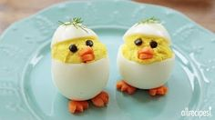 Deviled Egg Chicks with Michael's Home Cooking - YouTube