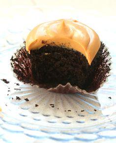 El tenedor rosa: Cupcakes de chocolate