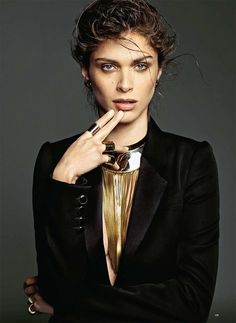 visual optimism; fashion editorials, shows, campaigns & more!: 70'ler yeni retro: elisa sednaoui by nico for harper's bazaar turkey july 201...