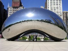 """Anish Kapoor, in Chicago, they call it the bean, everywhere else it is known as """"Cloud Gate"""".    Anish Kapoor"""