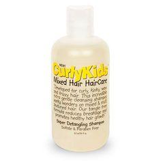 CurlyKids Super Detangling Shampoo 8 oz
