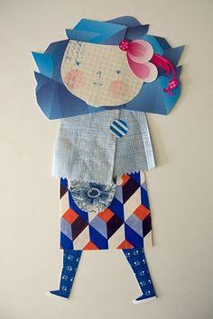 Ana Ventura: paper doll