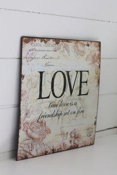 True love is friendship on fire....