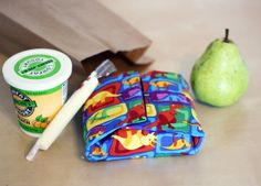 Reusable Sandwich Wrap - need to make for my lunches!