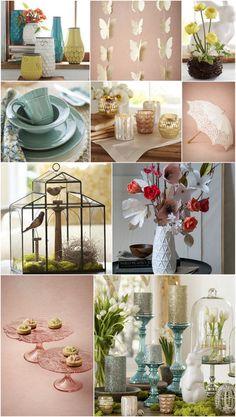favorite spring decor #bhldn #potterybarn #anthropologie #westelm