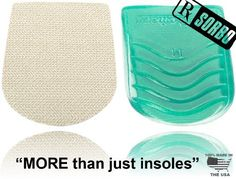 RxSorbo Sorbothane SorboGel Heel Pad by Isolate It! Insoles / Sorbothane. $9.95. Great heel strike protection. Male - Medium - 6.5- 10.5 / Female - 9 - 12. Proudly made in the U.S.A. Helps to relieve arch, back, heel, knee, shin splint pain and more. Sorbothane shock protection. So why are Isolate It! insoles MORE THAN JUST INSOLES?. The main reason they are NOT made of some foam or gel like most insoles. They are made of an advanced VISCO-ELASTIC material called Sorbothane. ...