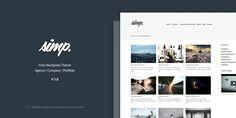 Simp - Free Agency Wordpress Theme - Theme Raid   Theme Raid