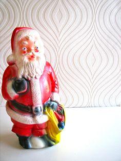 Vintage Standing Santa