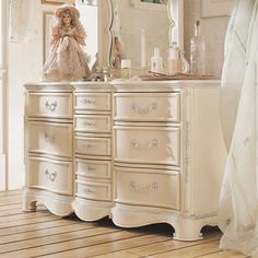 LOVE the elegance of this (dresser) ... perfect for my little one!