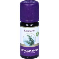 ROSMARIN ÖL Bio:   Packungsinhalt: 10 ml Öl PZN: 07509066 Hersteller: TAOASIS GmbH Natur Duft Manufaktur Preis: 3,67 EUR inkl. 19 % MwSt.…