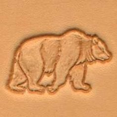 Springfield Leather Company White Tail Deer 3D Leather Stamp Right Facing