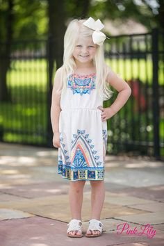 Run Around Kids Dress CLEARANCE