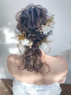 10 Most Amazing Wedding Hairstyles To Look Stunning During Your Weddings Crown Hairstyles, Bride Hairstyles, Summer Wedding Hairstyles, Instagram Hairstyles, Hair Arrange, Wedding Hair Inspiration, Full Hair, Love Hair, Hair Pieces