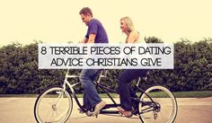 Christians, let's stop giving bad dating advice. Maybe this post will help you if you struggle with the difference between good and bad. #dating