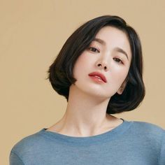Hair Inspo, Hair Inspiration, Song Hye Kyo, Asian Hair, Beauty Full Girl, Aesthetic Girl, Cute Hairstyles, Wedding Makeup, Hair Goals