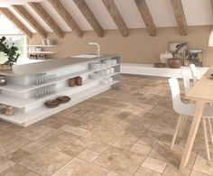 Enjoy our porcelain and ceramic tiles floors and walls in settings of bathrooms, kitchens , livingrooms and exteriors Ceramic Floor Tiles, Porcelain Tile, Tile Floor, Background Tile, Interiores Design, Stoneware, Flooring, Wall, Kitchen