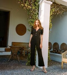 Jumpsuits + Sandals - If you haven't added a tailored jumpsuit to your wardrobe yet, let these women remind you why you absolutely should. It will be the easiest thing you throw on all summer long.