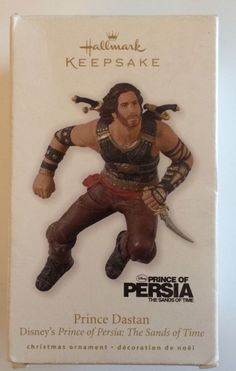 Disney Prince of Persia Ornament Dastan The Sands of Time Christmas Holiday New | eBay