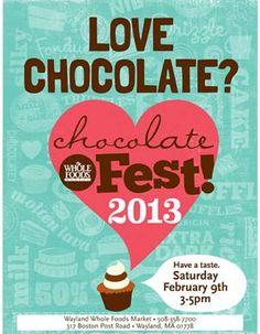 Whole Foods Chocolate Fest, Saturday, February 9