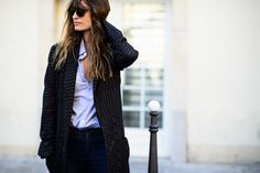On the Streets of Paris Fashion Week Spring 2015 - Paris Fashion Week Spring 2015 Day 5