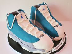3D Jordan Sneakers Cake New Jersey