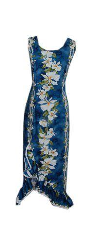 09e09cbfa7ff Jade Fashions Inc. Women's Ginger Princess Hawaiian Dress-Blue-S. Discount  HandbagsDance CostumesPrinted ...