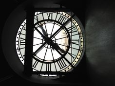 Mussee d'orsay amazing clock window