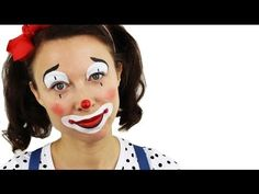 Beginners Clown Face Painting Tutorial | Snazaroo - YouTube