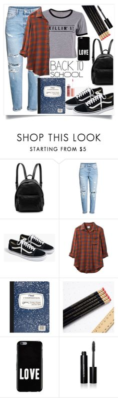 """""""Back to School!"""" by ashaleethornt ❤ liked on Polyvore featuring STELLA McCARTNEY, J.Crew, RVCA, Mead, Givenchy, Bobbi Brown Cosmetics and Charlotte Russe"""