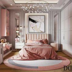 Luxury Kids Bedroom, Modern Kids Bedroom, Room Design Bedroom, Girl Bedroom Designs, Room Ideas Bedroom, Home Room Design, Home Interior Design, Bedroom Decor, Girls Bedroom